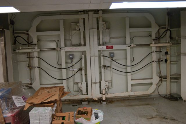 Behind the Scenes Ship Tour - Ship's outer doors
