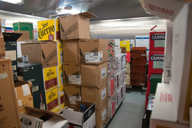 Behind the Scenes Ship Tour - That's a lot of alcohol