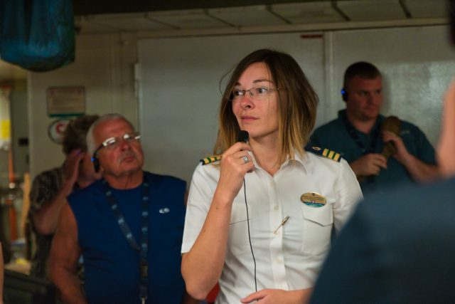 Behind the Scenes Ship Tour - Environmental Officer Anna explains how everything works