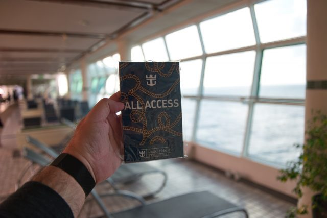 "Behind the Scenes Ship Tour - ""All Access"" tour gift (knot tying guide)."