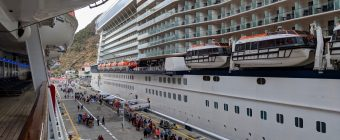 Inside vs Outside Cruise Cabins - Celebrity Equinox and Carnival Sunshine in St Maarten