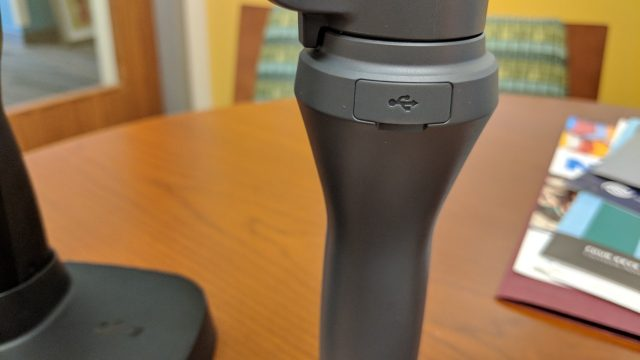 USB charging port on the DJI Osmo Mobile 2 - Osmo Mobile used a different charge plug