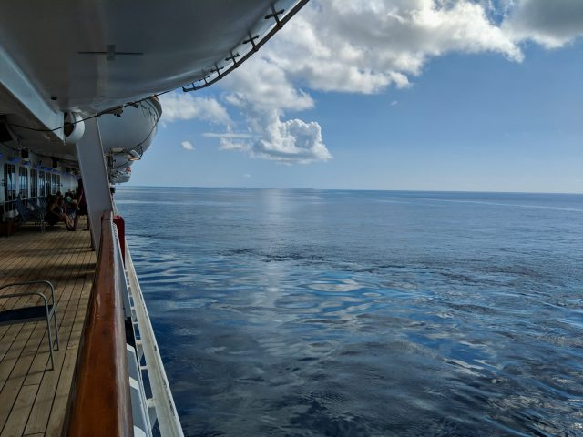 Calm Caribbean Waters - Carnival Sunshine Ship