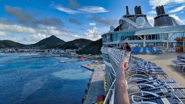 Oasis of the Seas in St Maarten Sept 2018