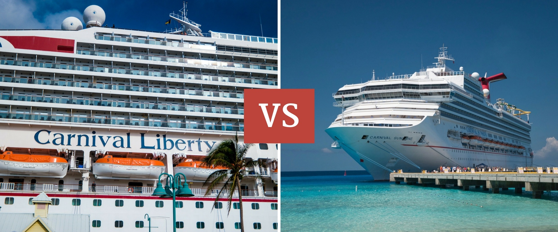 Carnival Sunshine vs Carnival Liberty – Which is better for family travel?