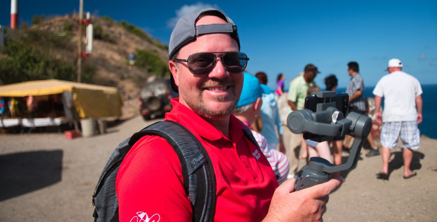 DJI Osmo Mobile 2 Review - Osmo in Action in St Kitts