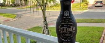 Califia Mocha Cold Brew Coffee Review - Outdoor Product Photo