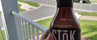 STōK Cold Brew Protein Review Hero Banner