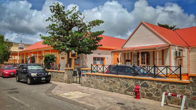 The Oranje School in Philipsburg St. Maarten