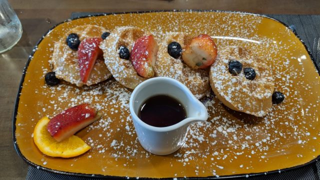 The Grove Resort Orlando Review - Restaurants and Food - Valencia Restaurant - Breakfast Waffles