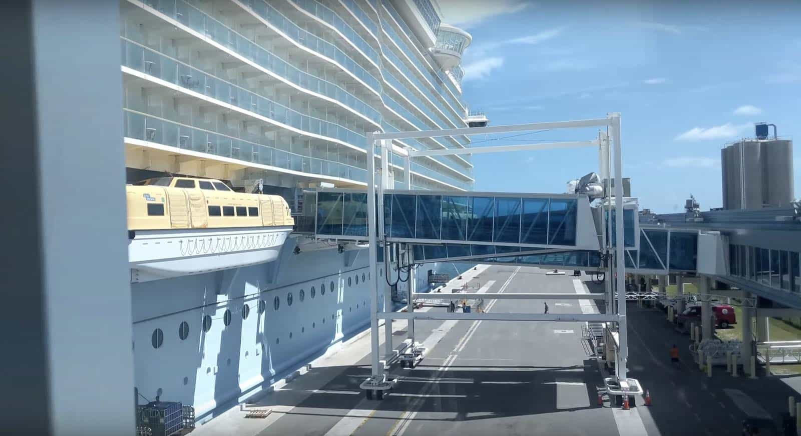 Oasis of the Seas in Port Canaveral FL
