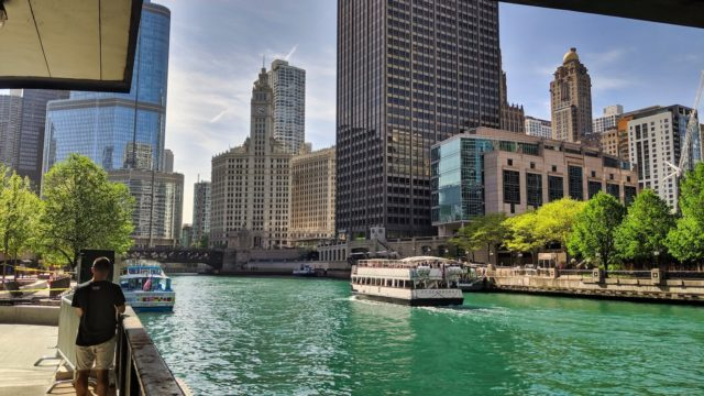 Chicago 2019 - Riverwalk View