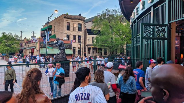 Chicago 2019 - Chicago Cubs vs Philadelphia Phillies - Wrigley Field Gate