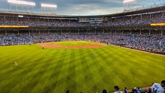Chicago 2019 - Chicago Cubs vs Philadelphia Phillies - View from LG Porch
