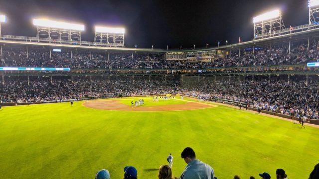 Chicago 2019 - Chicago Cubs vs Philadelphia Phillies - End of Game