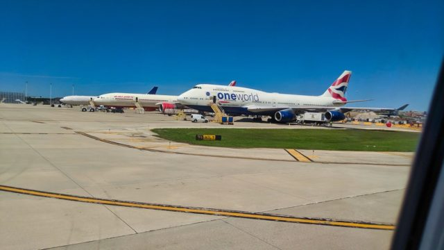 Chicago 2019 - British Airways 747