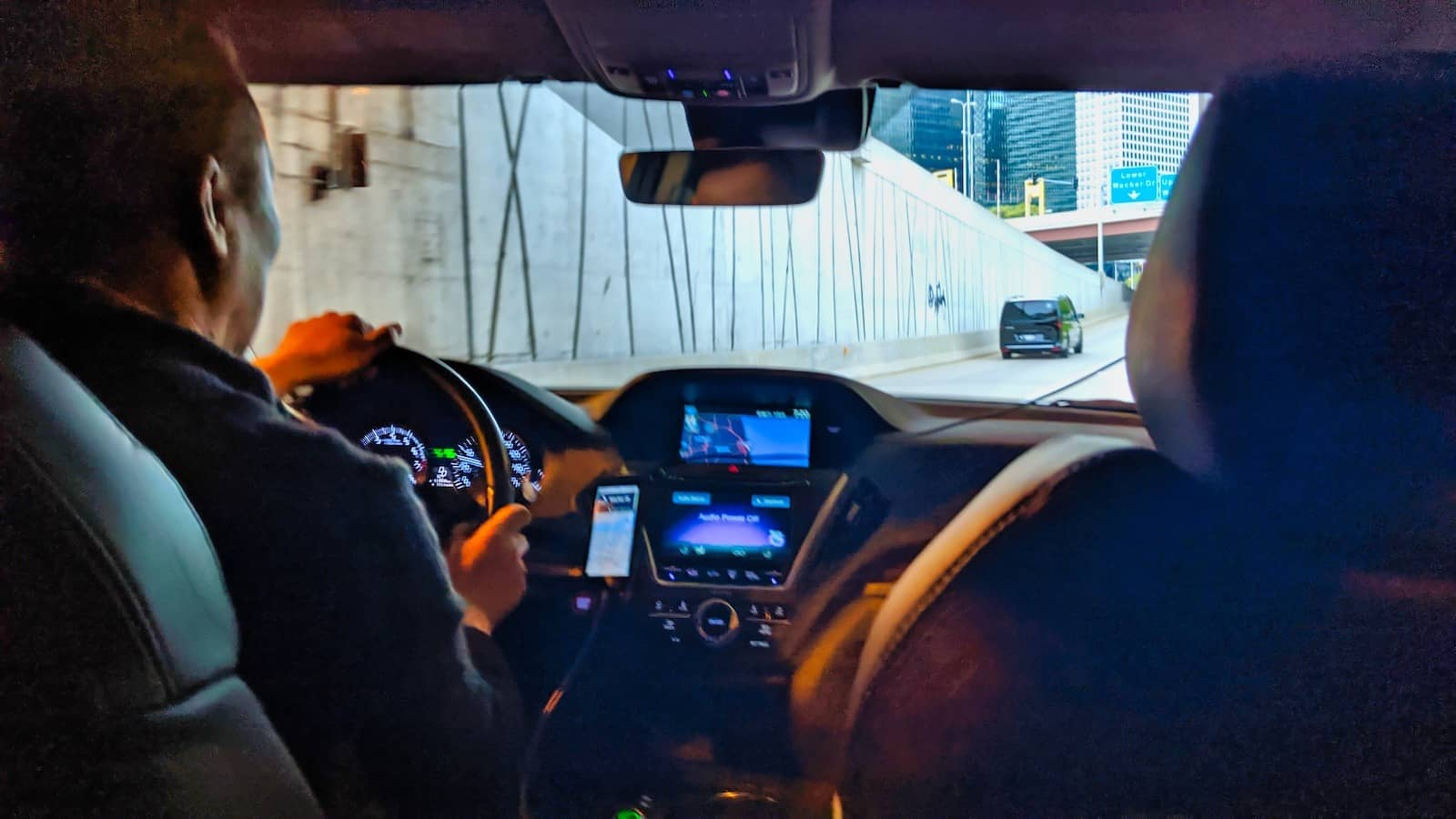 Chicago 2019 - Uber from O'Hare to the Sheraton Grand Chicago