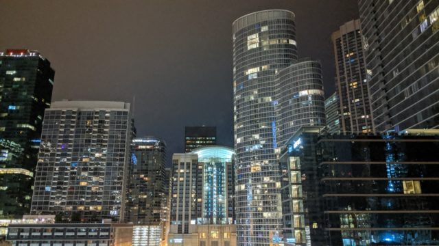 Chicago 2019 - Night View from Sheraton Grand Chicago