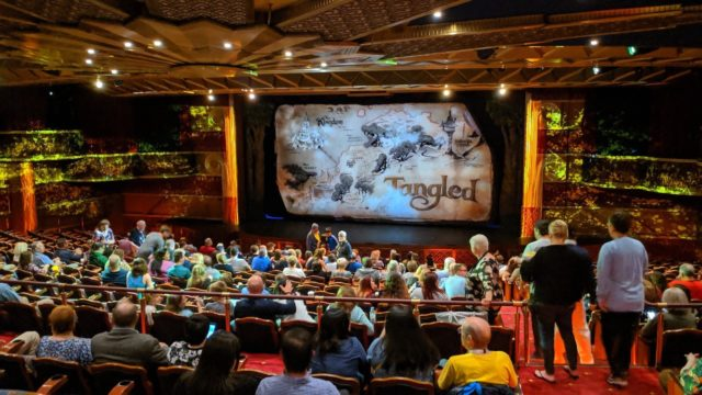 Disney Magic Tangled in the Walt Disney Theatre