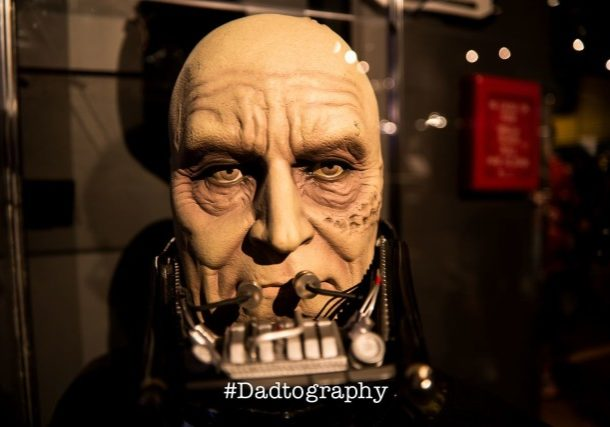 Darth Vader Without His Mask