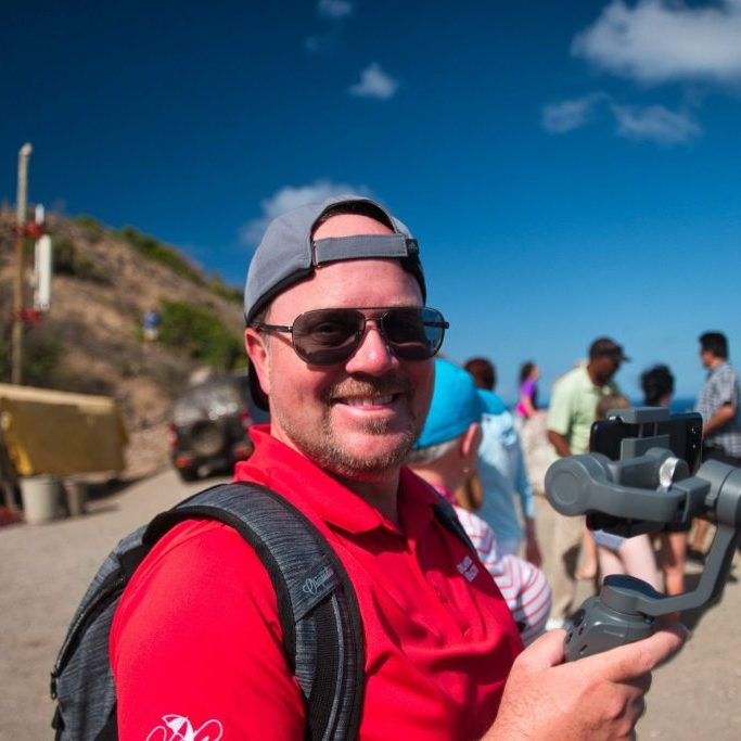 DJI Osmo Mobile 2 in Action - St Kitts